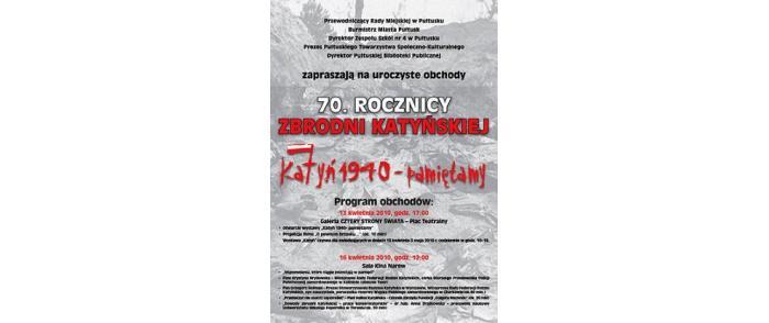 """Wystawa """"Katyń 1940 – pamiętamy"""""""