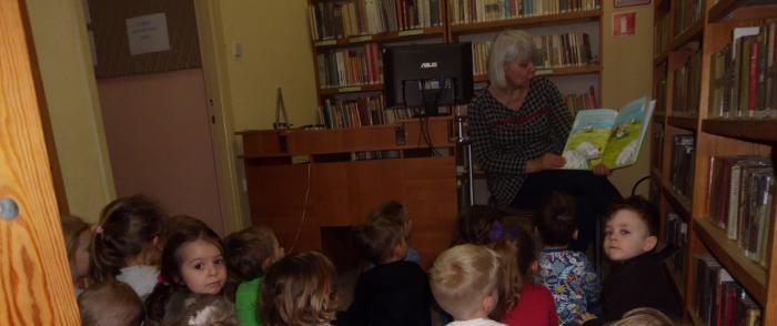 Lekcje biblioteczne w Filii nr 3