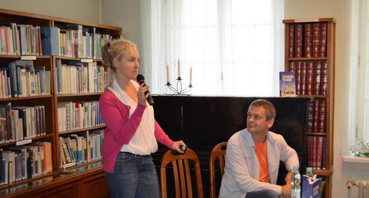 Spotkanie z Wiesławą i Krzysztofem Rudź
