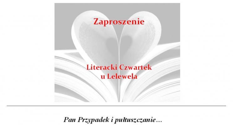 Literacki czwartek - Jacek Getner