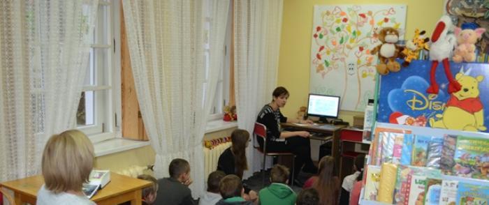 Zajęcia edukacyjne w Oddziale dla Dzieci - zapraszamy