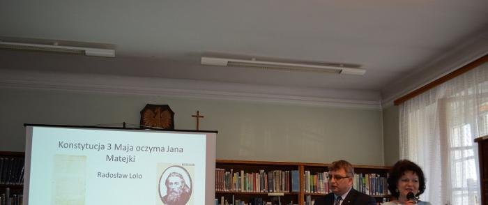 Konstytucja 3 Maja oczyma Jana Matejki