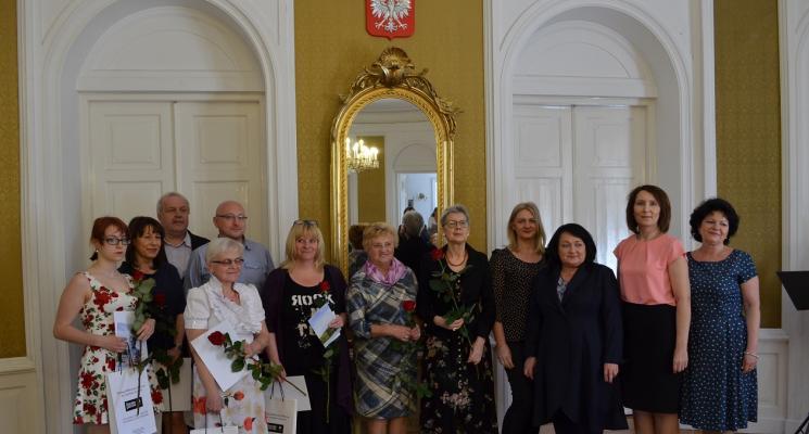 Uroczystość wręczenia nagród w XII Ogólnopolskim Konkursie Jednego Wiersza im. Wiktora Gomulickiego o Laur Błękitnej Narwi
