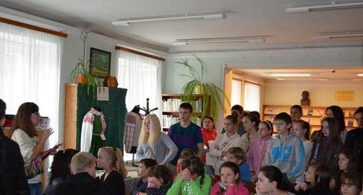 Wycieczka dzieci i młodzieży z Białorusi