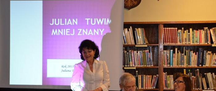 Literacki czwartek u Lelewela - Julian Tuwim