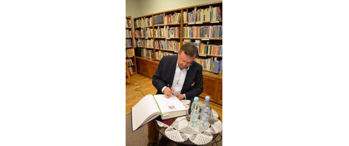 Spotkanie ze Zbigniewem Buczkowskim