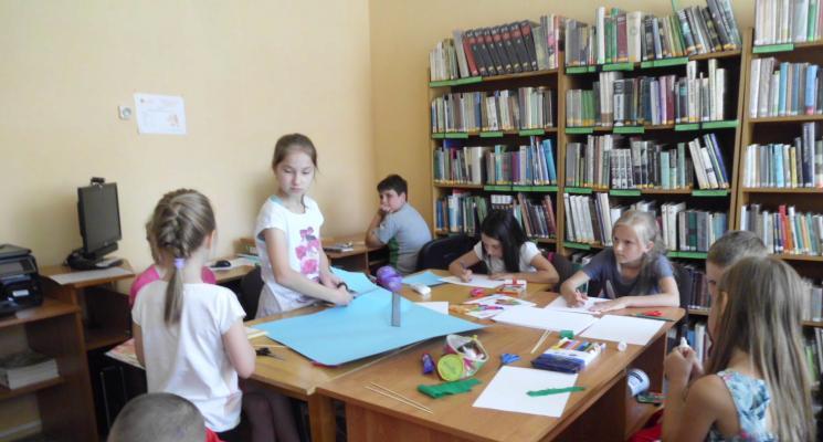 Wakacje w Filii Nr 2 Pułtuskiej Biblioteki Publicznej
