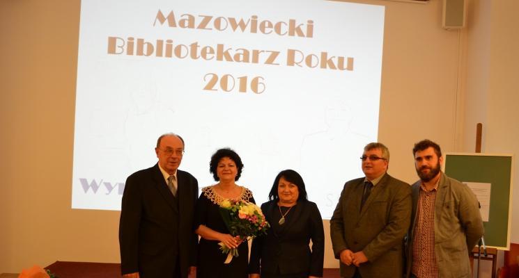 Mazowiecki Bibliotekarz Roku 2016