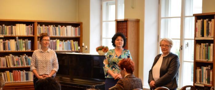 Odwiedziny bibliotekarzy z powiatu ciechanowskiego