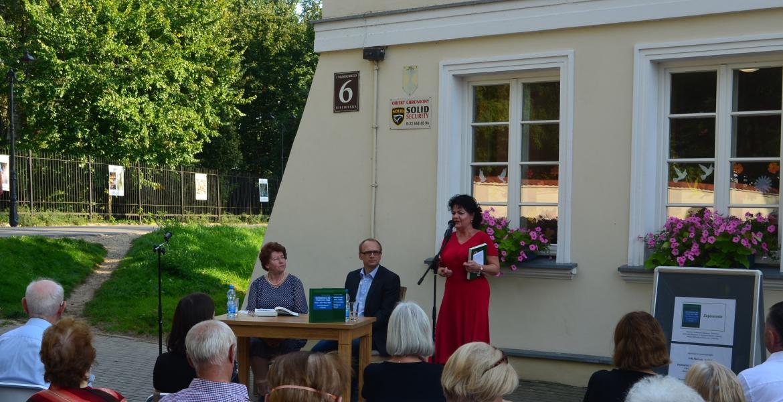 Promocja książki pani Zofii Marianny Wróbel