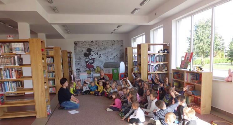 Ogólnopolski Dzień Głośnego Czytania w naszych Filiach