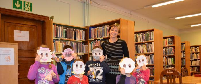 W krainie uśmiechniętej książki – ferie zimowe z Biblioteką
