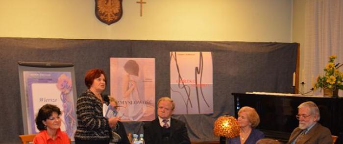 Wieczór autorski Zdzisława Zembrzyckiego