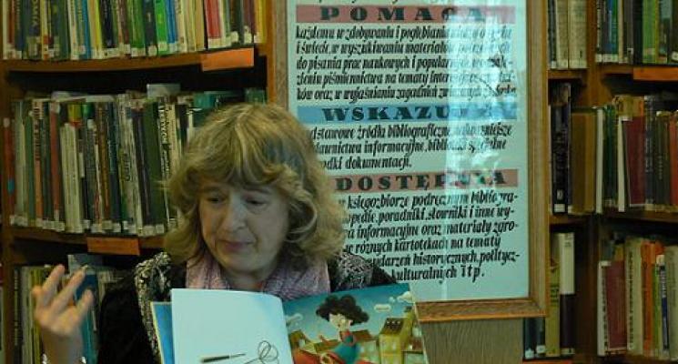 Spotkanie z Dorotą Gellner