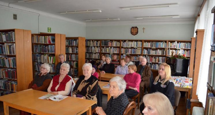 Senior - WIGOR w Pułtuskiej Bibliotece